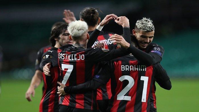 Hasil Liga Eropa, AC Milan Bungkam Sparta Praha 3-0, Rossoneri Catatkan Sejarah Menawan