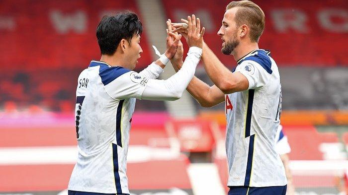 SUSUNAN PEMAIN & Link Live Streaming Tottenham vs Manchester City